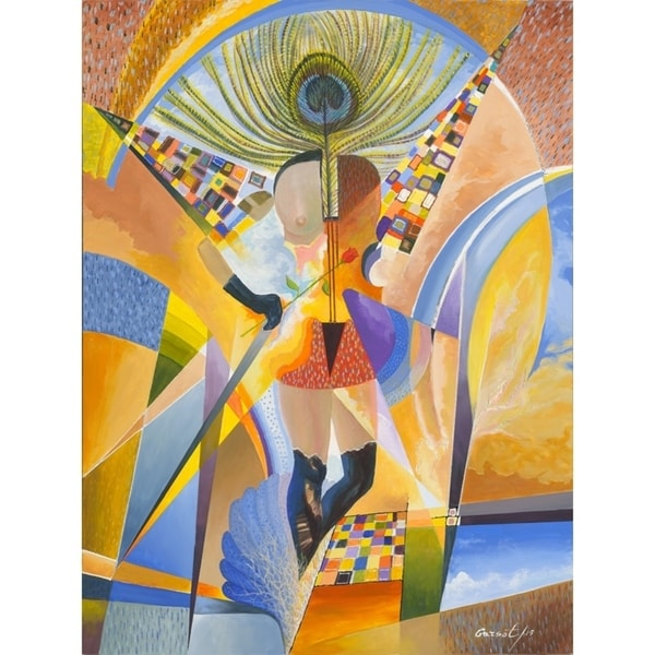 Arts Performer III by Garsot, Canvas Giclee Wall Art - Free Shipping ...