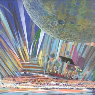 Space Symphony by Garsot, Canvas Giclee Wall Art
