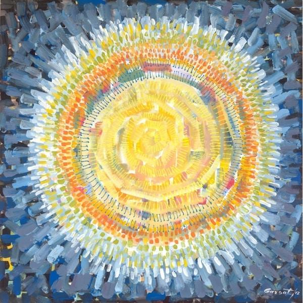 """""""Awakening Sun"""" by Garsot, Canvas Giclee Wall Art"""