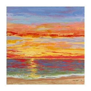 Ocean Sunset by Garsot, Canvas Giclee Wall Art