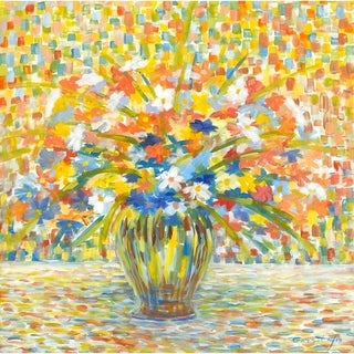 Flowers For You by Garsot, Canvas Giclee Wall Art