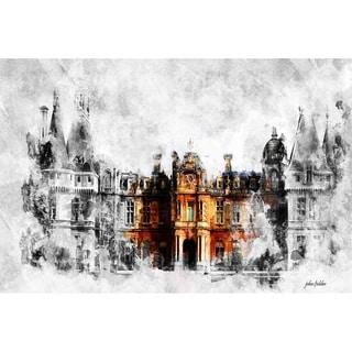 """""""Sort of Downtown Abbey"""" by John Fielder, Canvas Giclee Wall Art"""
