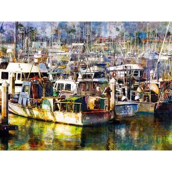 """""""Fisherman's Dream"""" by John Fielder, Canvas Giclee Wall Art"""