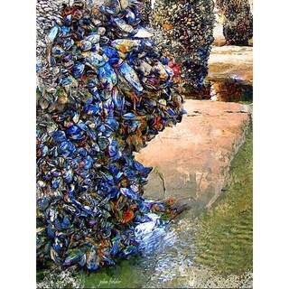 """Ventura Pier Pilings"" by John Fielder, Canvas Giclee Wall Art"