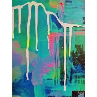 """""""Galaxy"""" by Hillary Werth, Canvas Giclee Wall Art"""