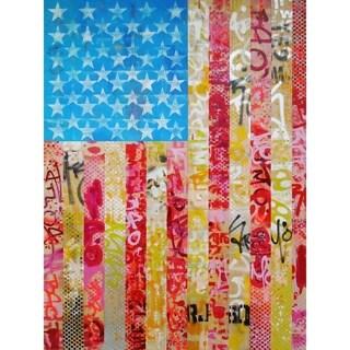 """Merica"" by Hillary Werth, Canvas Giclee Wall Art"