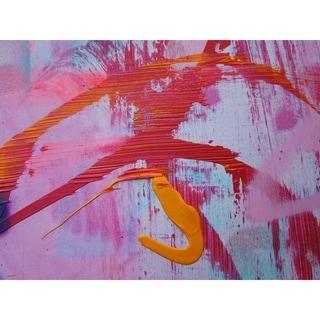 """Stroke"" by Hillary Werth, Canvas Giclee Wall Art"