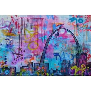 """STL"" by Hillary Werth, Canvas Giclee Wall Art"