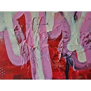 """Splat"" by Hillary Werth, Canvas Giclee Wall Art"