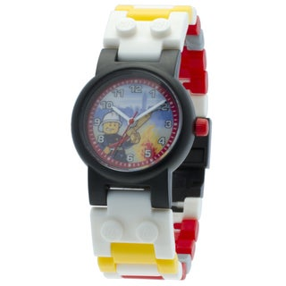 LEGO City Fireman Minifigure Interchangeable Link Watch