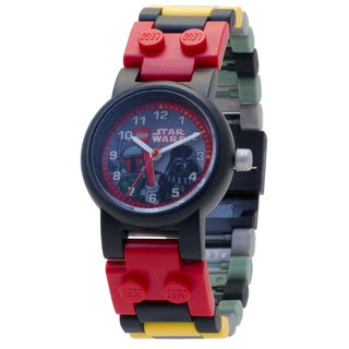 LEGO Star Wars Boba Fett and Darth Vader Minifigure Link Watch