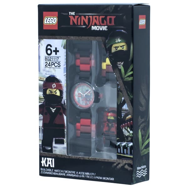 Shop Lego Ninjago Movie Kai Minifigure Link Watch Overstock 17974376