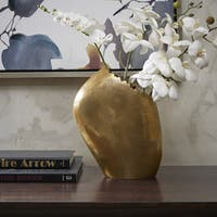 Madison Park Signature Renton Antique Gold Vase