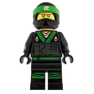 LEGO Ninjago Movie Lloyd Minifigure 9.5- in Clock