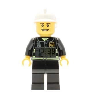 LEGO City Fireman Minifigure 9.5- in Clock|https://ak1.ostkcdn.com/images/products/17974392/P24149542.jpg?impolicy=medium