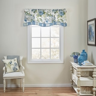 Waverly Floral Engagement Floral Window Valance - 52x18