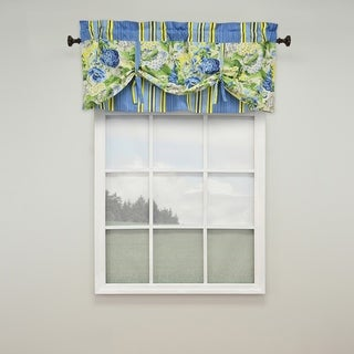 Waverly Floral Flourish Lined window valance - 52x21