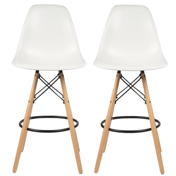 26 Photos 31 Reviews: Shop Mid-Century Modern Retro 26 In. Counter Stool, Set Of