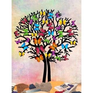 """Butterfly Tree II"" by Mark Ashkenazi, Canvas Giclee Wall Art"