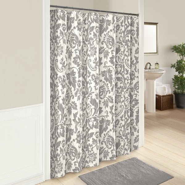 Shop Marble Hill Tanner Shower Curtain   Free Shipping On Orders Over $45    Overstock   17974870