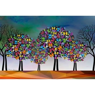 """""""Butterfly Tree I"""" by Mark Ashkenazi, Canvas Giclee Wall Art"""