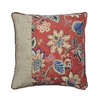 Waverly Brighton Blossom Euro Sham