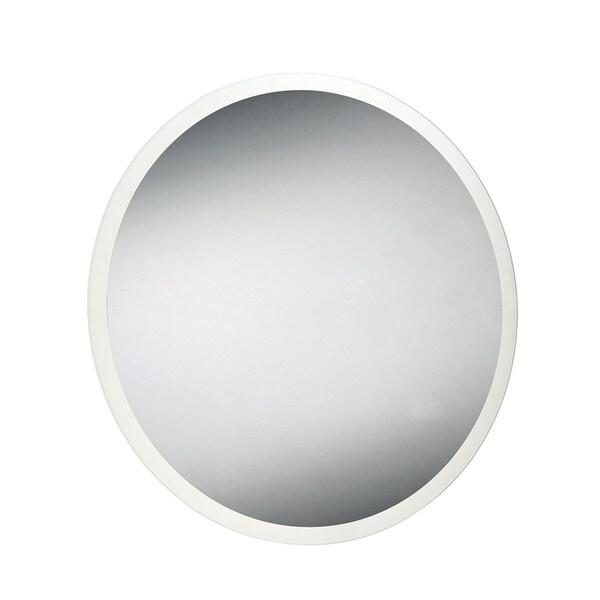 Eurofase Round Edge-Lit LED Mirror - 29104-017 - Silver