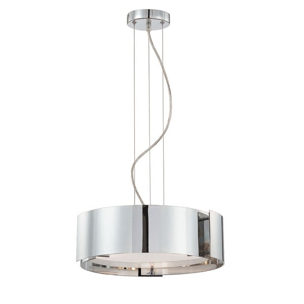 Eurofase Dervish 3-Light Pendant, Satin Nickel Finish - 12530-045