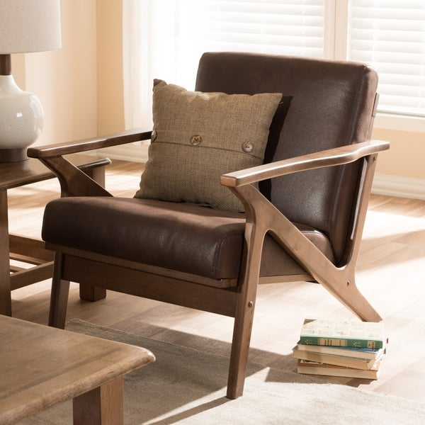 Mid-Century Lounge Chair by Baxton Studio