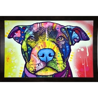 """Love A Bull This Years Love 2013 Part 1 Framed Print 14""""x21.75"""" by Dean Russo"""