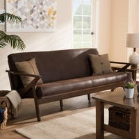 Mid-Century Sofa by Baxton Studio