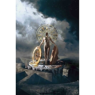 """""""Queen of Time"""" by Vimark, Canvas Giclee Wall Art"""