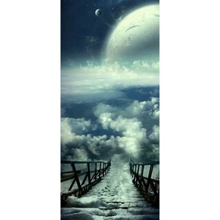 """Road to Space"" by Vimark, Canvas Giclee Wall Art"