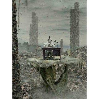 """""""All is Vanity"""" by Vimark, Canvas Giclee Wall Art"""