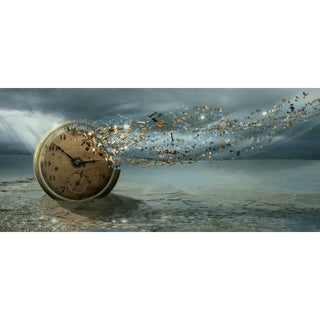 """Time"" by Vimark, Canvas Giclee Wall Art"