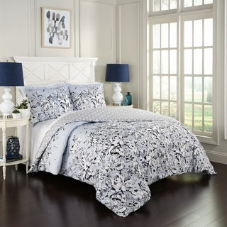 Marble Hill Danica Reversible 3-Piece Comforter Set