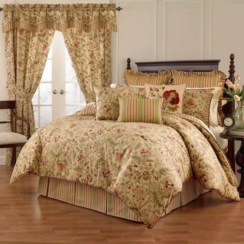 Waverly Imperial Dress Antique 4 piece Comforter Set