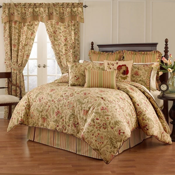 Waverly Imperial Dress Antique 4 piece Comforter Set