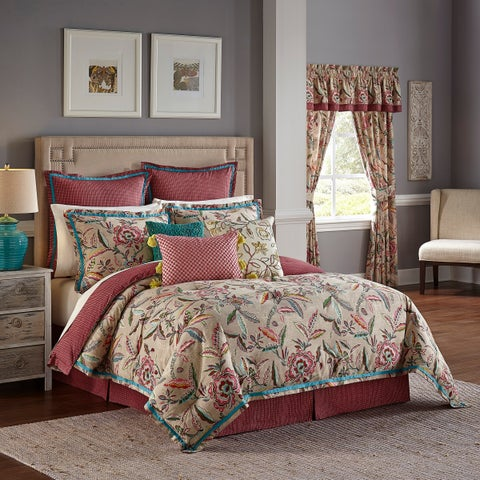 Waverly Key of Life Reversible Comforter Collection - jubilee