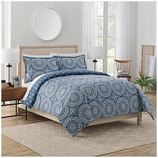 Marble Hill Harley Reversible 3-Piece Comforter Set