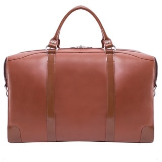 McKlein USA Renfroe Leather Travel Duffel