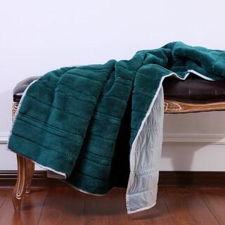 Berkshire Blanket Polartec Water Resistant Throw Blanket