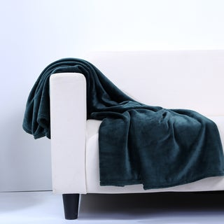 Berkshire Blanket Decorative Velvety Soft Plush Throw