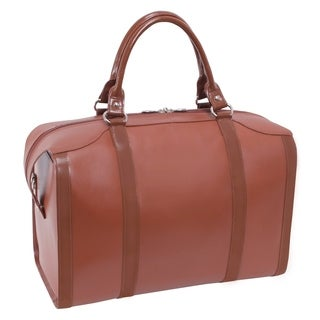 McKlein USA Throop Travel Leather Duffel