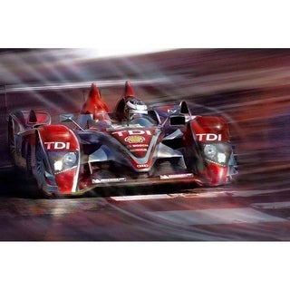 """Audi"" by Mike Calascibetta, Canvas Giclee Wall Art"
