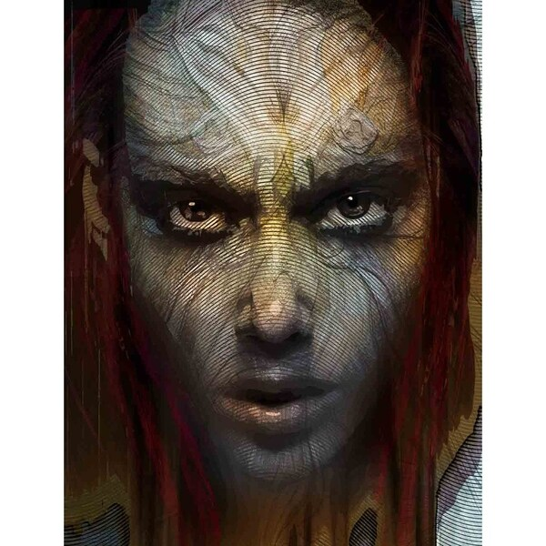"""Close up I"" by Mike Calascibetta, Canvas Giclee Wall Art"