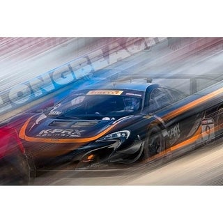 """Long Beach Speed"" by Mike Calascibetta, Canvas Giclee Wall Art"
