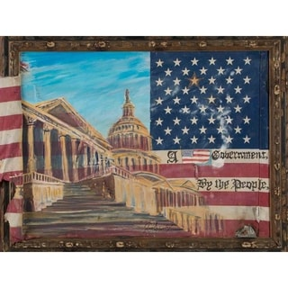 """""""For the People"""" by David SchwARTZ, Canvas Giclee Wall Art"""