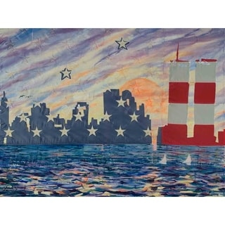 """New York"" by David SchwARTZ, Canvas Giclee Wall Art"