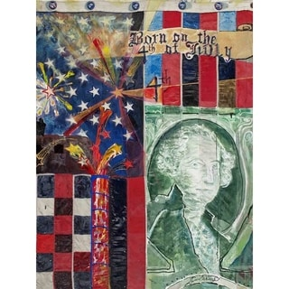 """""""4th of July"""" by David SchwARTZ, Canvas Giclee Wall Art"""